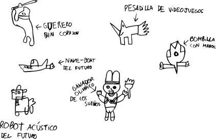 Dibujo de Lasse, 9 años