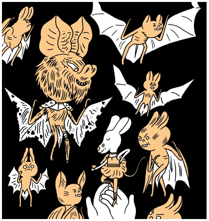 Dreaming bats - Jon Boam