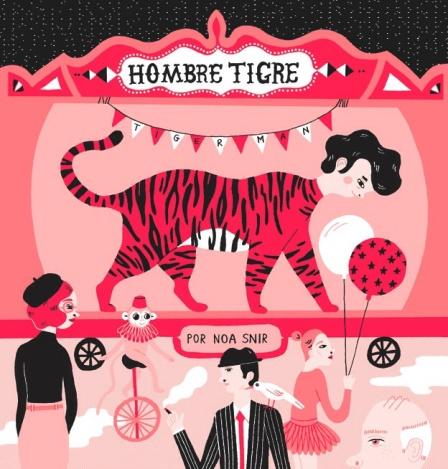 #28. Hombre Tigre - By Noa Snir
