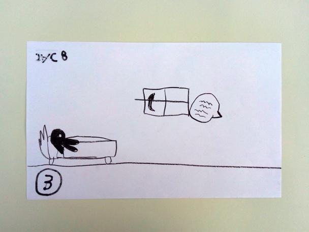 Dibujo de Jac, 8 años