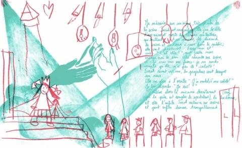 Illustrated dream by Lola Tinnirello & Lucía