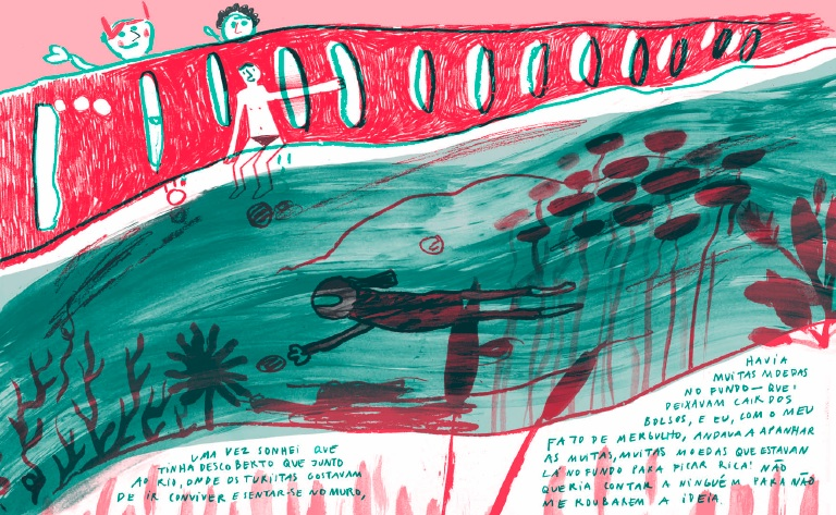 Illustrated dream by Mariana Malhão & Hugo