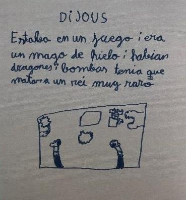 Sueño de Jorge, 9 años, España.
